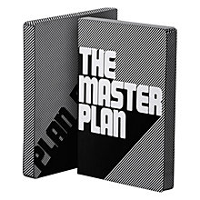 Buy Nuuna The Master Plan Note Book, Black/White Online at johnlewis.com