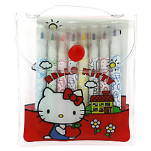 Buy Hello Kitty Vintage Mini Fibre Tip Pens, Pack of 8 Online at johnlewis.com