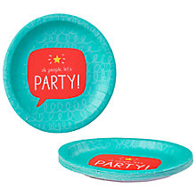 Buy Happy Jackson Party Plate, Pack of 10 Online at johnlewis.com