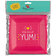 Buy Happy Jackson Yum Party Plate, Pack of 10 Online at johnlewis.com