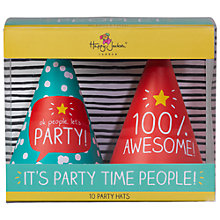 Buy Happy Jackson Party Hat, Pack of10 Online at johnlewis.com