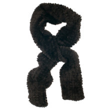 Buy Chesca Faux Fur Knitted Scarf Online at johnlewis.com