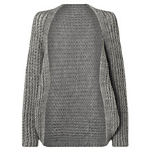 Buy Jigsaw Chunky Knit Cocoon Cape Online at johnlewis.com
