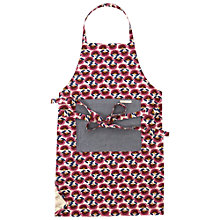 Buy White Stuff Cut Work Floral Apron, Oatmeal Online at johnlewis.com