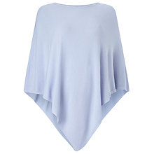 Buy Phase Eight Eden Poncho, Soft Blue Online at johnlewis.com
