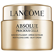 Buy Lancôme  Absolue Precious Cells Silky Light Cream, 50ml Online at johnlewis.com