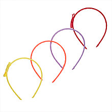 Buy John Lewis Bow Alice Bands, Pack of 4 Online at johnlewis.com