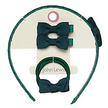 Buy John Lewis Hair Accessory Set, Pack of 5 Online at johnlewis.com