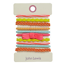 Buy John Lewis Bright Bobbles, Pack of 10, Multi Online at johnlewis.com