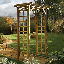 Buy Rowlinson Square Top Arch, Natural Online at johnlewis.com