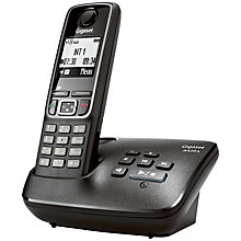 Buy Gigaset A420A Digital Cordless Phone With Answering Machine & Eco Features, Single DECT Online at johnlewis.com