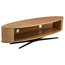 "Buy Techlink Ellipse XL1400 TV Stand for TVs up to 70"", Oak Online at johnlewis.com"