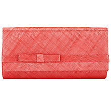 Buy Nigel Rayment Sinamay Bow Detail Clutch Bag Online at johnlewis.com