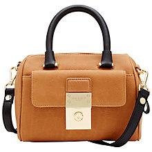 Buy Ted Baker Emilya Leather Mini Duffle Bag Online at johnlewis.com