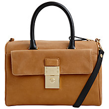 Buy Ted Baker Katey Small Leather Duffle Bag Online at johnlewis.com
