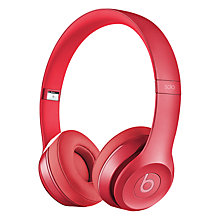 Buy Beats™ by Dr. Dre™ Solo™ 2 HD High Definition On-Ear Headphones with Mic/Remote, Royal Edition Online at johnlewis.com
