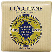 Buy L'Occitane Shea Butter Verbena Soap, 100g Online at johnlewis.com