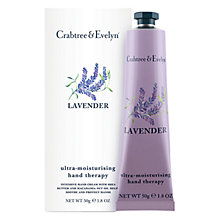 Buy Crabtree & Evelyn Lavender Hand Therapy, 50g Online at johnlewis.com
