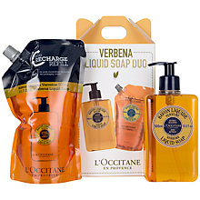 Buy L'Occitane Verbana Liquid Hand Soap Duo Set, 2 x 500ml Online at johnlewis.com