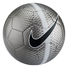 Buy Nike Technique Football, Grey Online at johnlewis.com