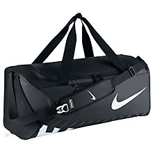 Buy Nike Alpha Adapt Crossbody Large Training Duffel Bag, Black Online at johnlewis.com