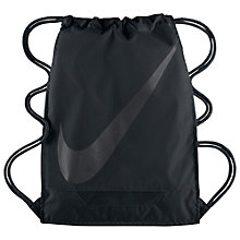 Buy Nike 3.0 Football Gym Sack, Black Online at johnlewis.com