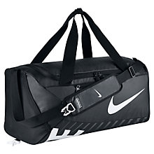 Buy Nike Alpha Adapt Crossbody Training Duffel Bag, Medium, Black Online at johnlewis.com