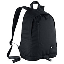 Buy Nike All Access Halfday Backpack, Black Online at johnlewis.com