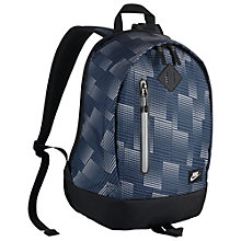 Buy Nike Cheyenne Kids' Backpack, Blue/Black Online at johnlewis.com