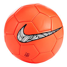 Buy Nike Neymar Prestige Football, Red Online at johnlewis.com