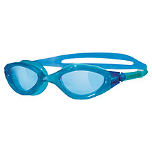 Buy Zoggs Panorama  Swimming Goggles, Blue/Aqua Online at johnlewis.com