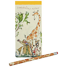 Buy Roald Dahl List Pad and Pencil Online at johnlewis.com