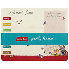 Buy Roald Dahl Weekly Planner Online at johnlewis.com
