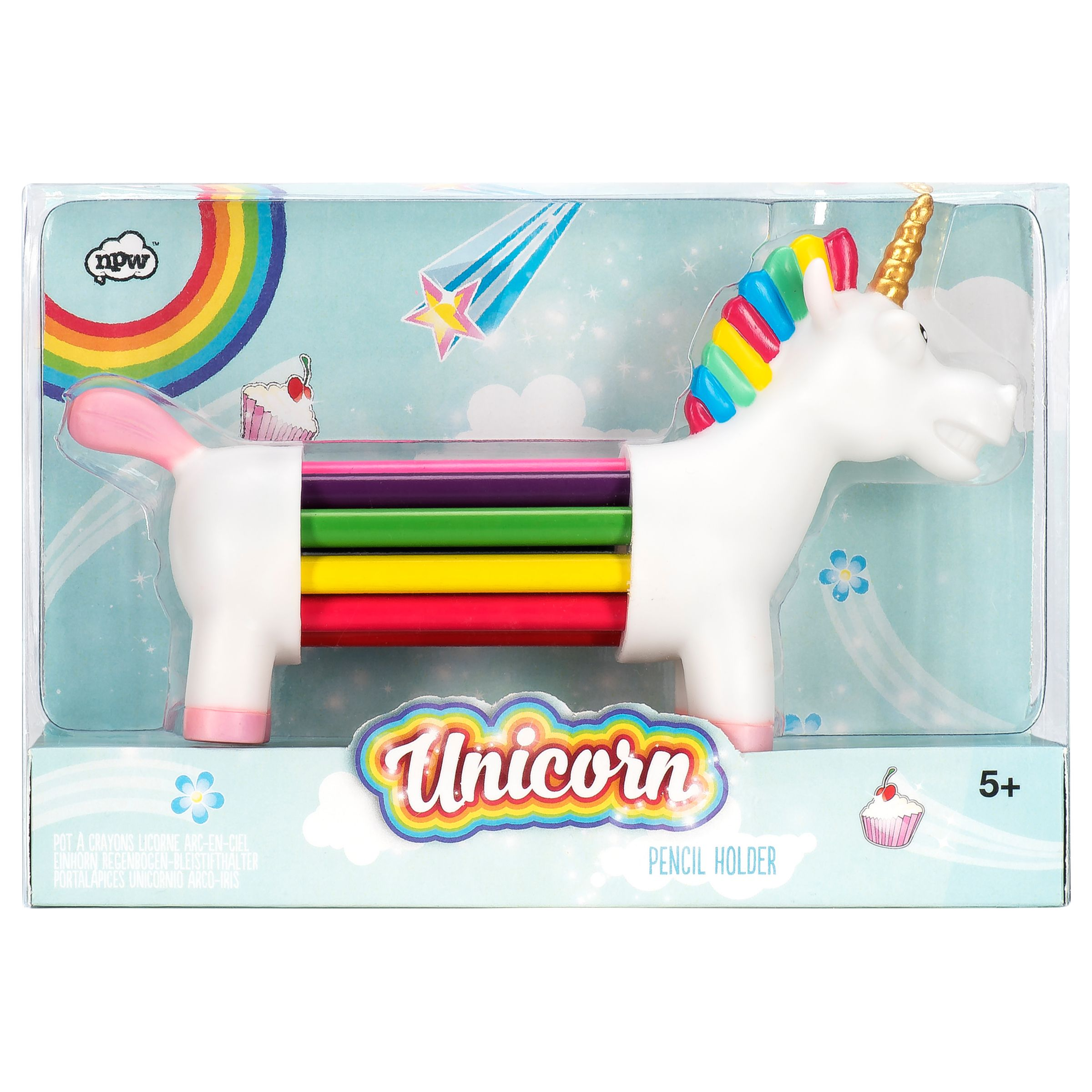 Natural Products Unicorn Pencil Holder