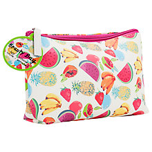Buy Natural Products Fruit Print Beauty Bag Online at johnlewis.com