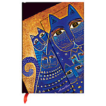 Buy Paperblanks Mediterranean Cats Notebook, Mini Online at johnlewis.com