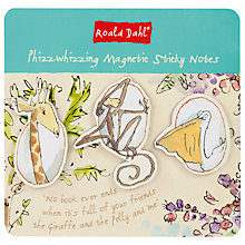 Buy Roald Dahl Magnetic Sticky Notes Online at johnlewis.com