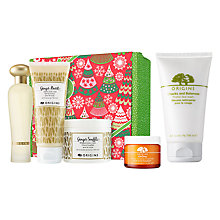 Buy Origins GinZing™ Moisturiser, 50ml and Best Of Ginger Skincare Gift Set with Free Origins Checks And Balances™ Frothy Face Wash, 150ml Online at johnlewis.com
