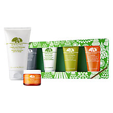 Buy Origins 'Mask Marvels' Skincare Gift Set and GinZing™ Moisturiser, 50ml with Free Origins Checks And Balances™ Frothy Face Wash, 150ml Online at johnlewis.com