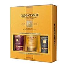 Buy Glenmorangie Explorer Pack, 3 Pack Online at johnlewis.com