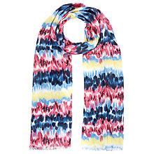 Buy John Lewis Hawaiian Floral Scarf, Multi Online at johnlewis.com