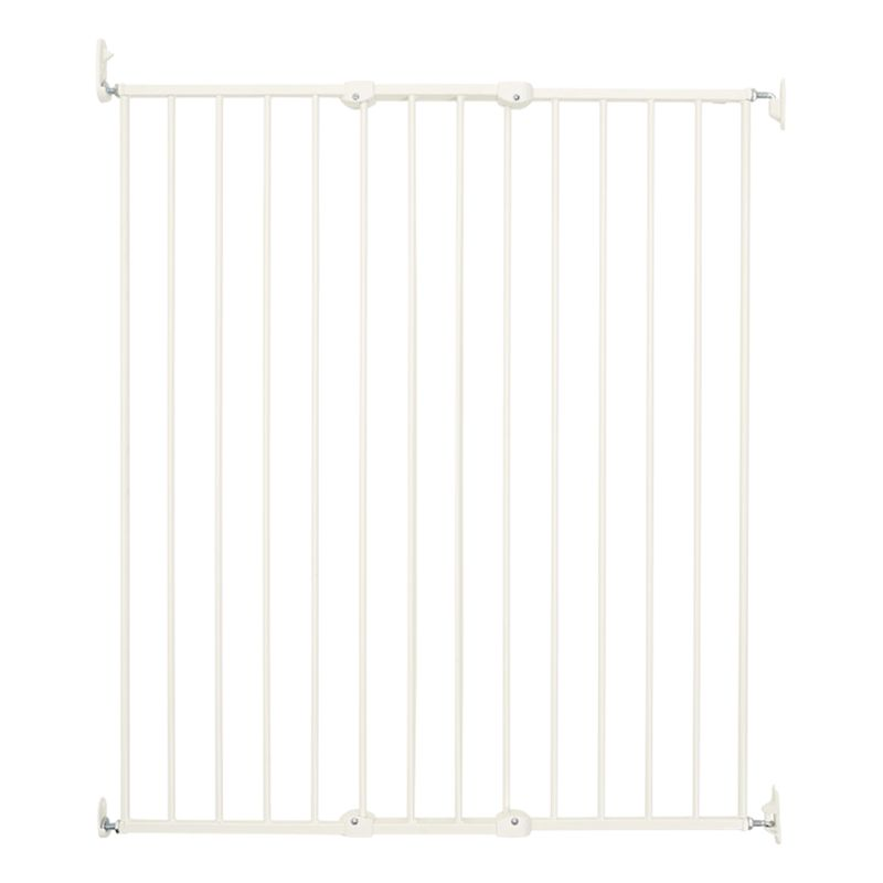BabyDan BabyDan Extra Tall Extending Baby Gate, White