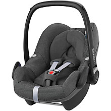Buy Maxi-Cosi Pebble Group 0+ Baby Car Seat, Sparkling Grey Online at johnlewis.com