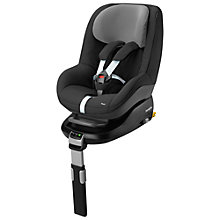 Buy Maxi-Cosi Pearl Group 1 Car Seat, Black Raven Online at johnlewis.com
