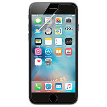 Buy Belkin TrueClear Transparent Screen Protector for iPhone 6/6s Online at johnlewis.com