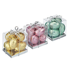 Buy Ambassadors of London Milk Chocolate Mini Egg Cubes, Assorted Colours Online at johnlewis.com
