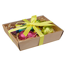 Buy Natalie Milk Chocolate Easter Eggs with Basket Online at johnlewis.com