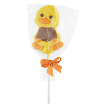 Buy Natalie Yellow Chick White Chocolate Lolly Online at johnlewis.com