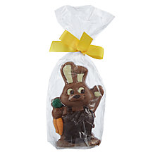 Buy Natalie Milk Chocolate Waving Bunny Online at johnlewis.com