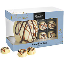 Buy Hotel Chocolat Scrambled Easter Egg White Chocolate Online at johnlewis.com